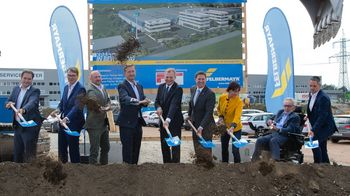 Groundbreaking ceremony for new Felbermayr-headquater