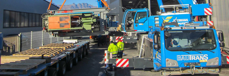 Innovativ bei Maschinentransport Slider