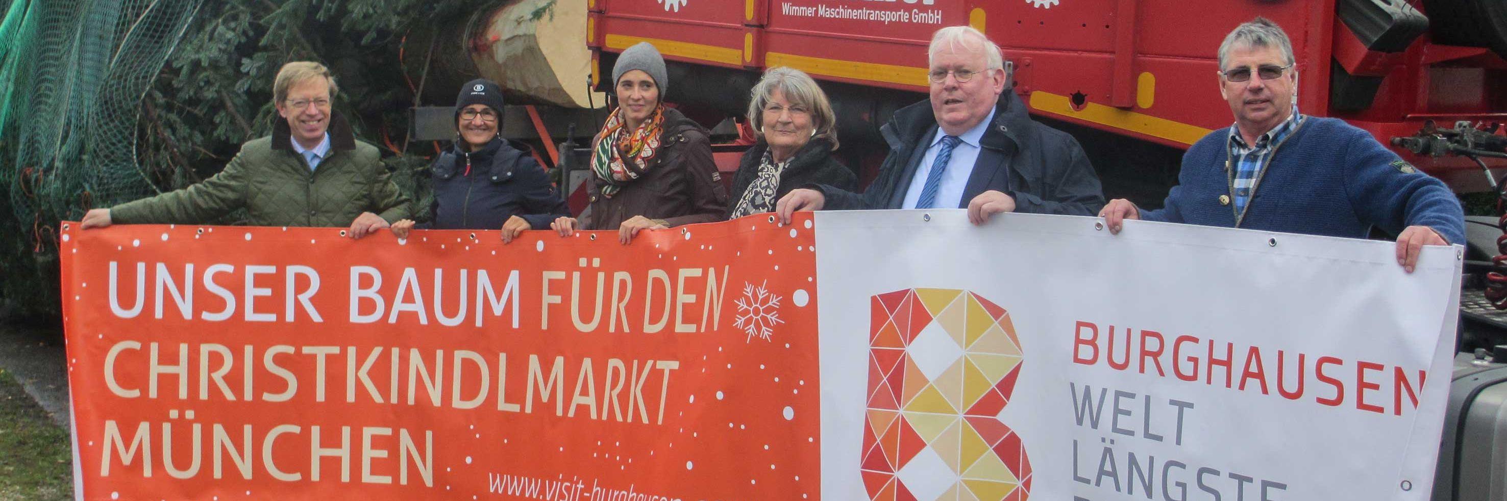 Sondertransport für Münchener Christkindlmarkt Slider